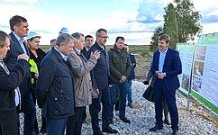 А. Артамонов посетил Хвастовичский район Калужской области