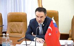 М. Хапсироков: Межпарламентские связи стурецкими коллегами динамично развиваются