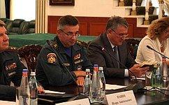 Для эффективного развития спасательной службы России надо уделять внимание формированию корпоративной культуры— Ю.Воробьев