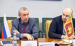 А.Климов встретился сПослом Шри-Ланки вРФ Даяном Джаятиллекой