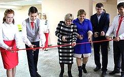 Ольга Хохлова приняла участие воткрытии инновационных «Точек роста» сельских школ