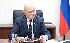 М. Щетинин принял участие вТоржественном собрании, посвященном Дню работников леса