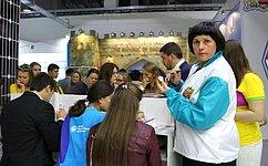 Е.Афанасьева посетила выставку «Регионы России имира»