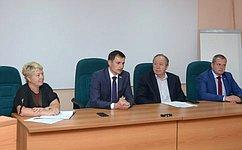Д. Шатохин принял участие взаседании профсоюзных организаций лесной ипромышленной отрасли Республики Коми
