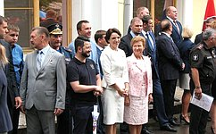 Ю.Вепринцева: Участников юнармейского движения объединяет желание служить своей стране