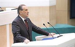 Сенаторы освободили С.Воробьева отдолжности заместителя Генерального прокурора РФ