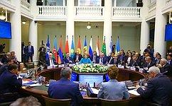 В. Матвиенко переизбрана Председателем Совета МПА СНГ