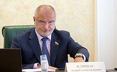А. Клишас: Изменения взаконодательство повысят эффективность мероприятий государства попротиводействию коррупции