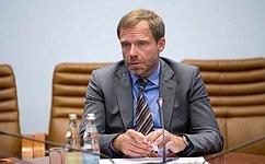 Работу Комитета СФ поРегламенту иорганизации парламентской деятельности нужно вывести наеще более высокий уровень— А.Кутепов