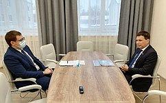И. Зубарев обсудил вопросы дистанционного образования, школьного питания иподготовки кдетской летней оздоровительной кампании вКарелии