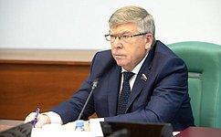 Зарекомендовавшие себя некоммерческие организации нужно больше задействовать воказании социальных услуг— В.Рязанский