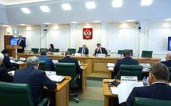 Сенаторы обсудили вопросы применения избирательного законодательства