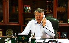 Ю. Воробьев: Парламентарии России иАрмении должны продолжить совместные усилия поуглублению многопланового сотрудничества