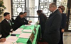 И.Умаханов: Выборы Президента Туркменистана прошли организованно иответственно, без нарушений закона