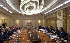 Federation Council Speaker Valentina Matviyenko meets with Moldovan President Igor Dodon