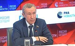 А.Климов провел заседание рабочей группы помониторингу внешней деятельности, направленной навмешательство вовнутренние дела РФ