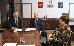 Н. Петрушкин провел прием граждан вРузаевском муниципальном районе Мордовии