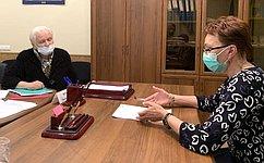 Т. Кусайко обсудила наприёме граждан вМурманской области работу системы здравоохранения