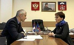 Т. Кусайко врамках работы вМурманской области провела совещание повопросам страховой медицины
