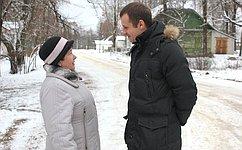 С.Леонов врамках работы вСмоленской области посетил Ершичский район