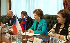 Российско-чешские межпарламентские связи активно развиваются— Г.Карелова