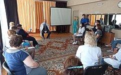 О. Цепкин посетил Центр помощи детям, оставшимся без попечения родителей