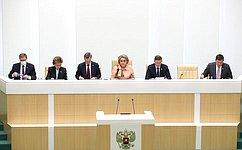 В. Матвиенко: Послание Президента РФ задало систему координат парламентской повестки как навесеннюю сессию, так инапоследующий период