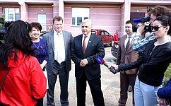 Ю.Волков дал старт реализации проекта «Комфортная городская среда» вКалужской области