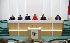 На«правительственный час» следующего заседания Совета Федерации приглашена Министр культуры РФ О.Любимова