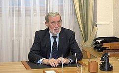 А.Ермаков провёл встречу сбиологом А.Сорокиным натему сохранения природного биоразнообразия вРоссии