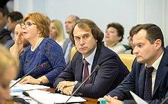 С.Лисовский провел заседание Экспертного совета при Комитете СФ поаграрно-продовольственной политике иприродопользованию