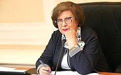 С. Горячева: Государство постоянно наращивает помощь добровольческому движению
