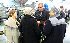 А.Кутепов организовал для детей изЦентра содействия семейному воспитанию экскурсию, посвященную 72-й годовщине Победы