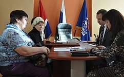 Н. Савельев провел вБлаговещенске прием граждан