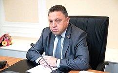 В.Тимченко: Совет Федерации ведет планомерную работу посовершенствованию законодательства вобласти развития потребительской кооперации