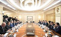 К.Косачев провел ряд встреч смеждународными наблюдателями навыборах Президента РФ