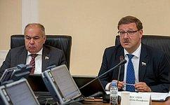 Комитет СФ помеждународным делам рассмотрел закон, касающийся правил определения страны происхождения товаров вСНГ