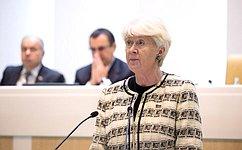 Н.Дементьева рассказала сенаторам освоей работе вкачестве полномочного представителя Совета Федерации вМПА СНГ