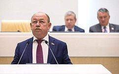 СФ одобрил изменения взакон «Онедрах»