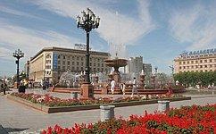 Спикер СФ поздравила жителей Хабаровска со155-летием основания города