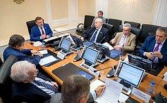 Сенаторы подвели итоги участия врегиональных конференциях российских соотечественников