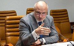 Состоялось заседание Комитета СФ поконституционному законодательству игосударственному строительству
