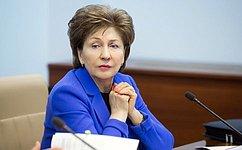 Г. Карелова: Совет Федерации готов вместе сМинздравом участвовать вподготовке предложений обустранении региональных диспропорций