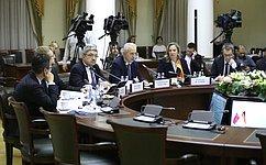 Члены групп посотрудничеству Совета Федерации иБундесрата ФРГ обсудили вопросы безопасности иборьбы стерроризмом