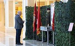 ВСовете Федерации открылась экспозиция Центрального музея Росгвардии, посвященная 75-летию Великой Победы