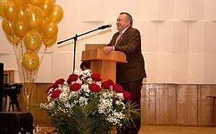 О. Пантелеев поздравил преподавателей истудентов Курганской сельскохозяйственной академии с70-летием содня основания