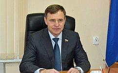 В. Новожилов: Личный прием жителей позволяет воперативном режиме реагировать напроблемы земляков