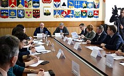 О. Цепкин провёл совещание повопросам повышения качества жизни старшего поколения вЧелябинской области