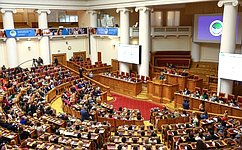 Valentina Matviyenko: TheEurasian Women's Forum has become aglobal event