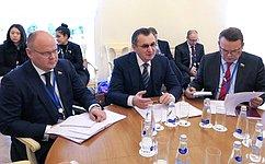 Состоялась встреча Н.Федорова сглавой национальной делегации Таиланда